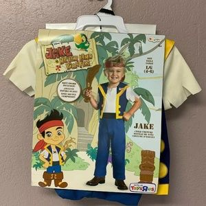 Jake and the Neverland Pirates Disguise Size Large
